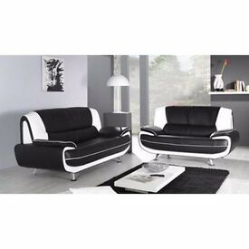 *SAVE £50 * Brand New * Large CAROL Sofa Corner / 3+2 SEATS With Metal Chrome Legs + SAME DAYD ROP
