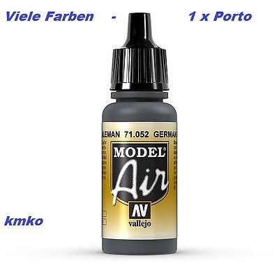Vallejo Model Air MA 052 71052 German Grey 17ml 15,29 €/100ml