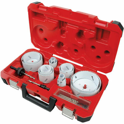 Ice Hardened 49-22-4105 Bi-metal Electrician Hole Saw Kit 19 Pieces