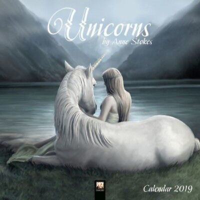 Купить Browntrout - 2019 Unicorns By Anne Stokes Wall Calendar, Fantasy Art by Browntrout