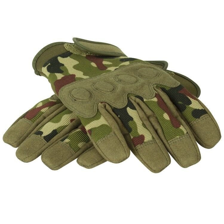 Flecktarn Paintball Tactical Combat Handschuhe
