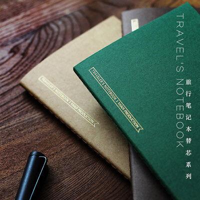 «Yanji» Refill Einlage für Traveler's Notebook Notizbuch Kalender 100g/m² Papier