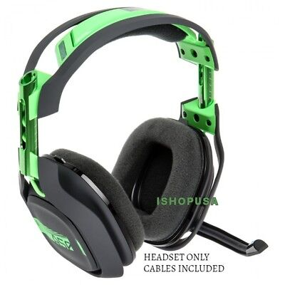 Astro A50 3 GEN WIRELESS DOLBY 7.1 GAMING HEADSET ONLY - GREEN (INCLUDES CABLES)