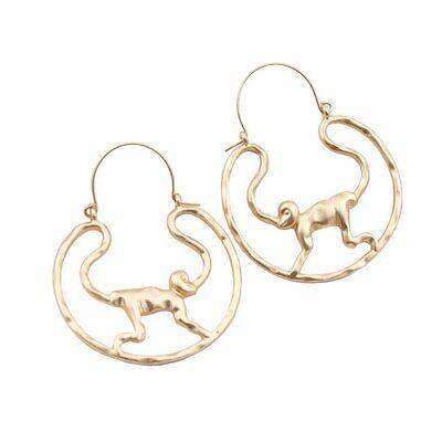 Monkey Hoop Earrings 2