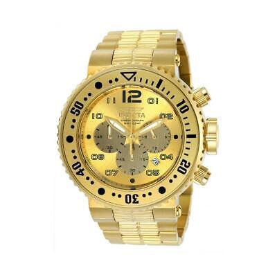 Invicta 25076 Men's Pro Diver Gold-Tone Date Chronograph Watch