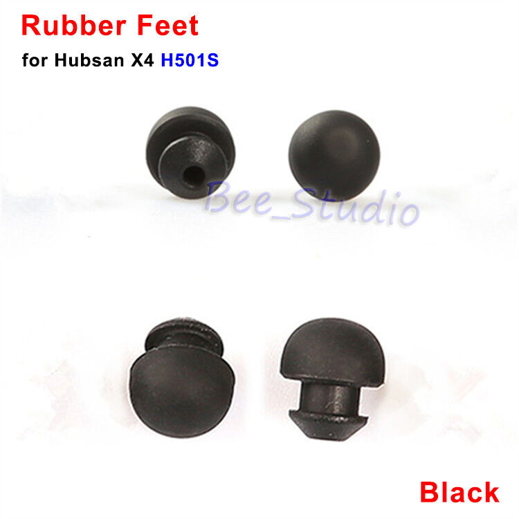 4pcs Rubber Feet Kit for Hubsan H501S X4 RC Drone Quadcopter Accessories Parts