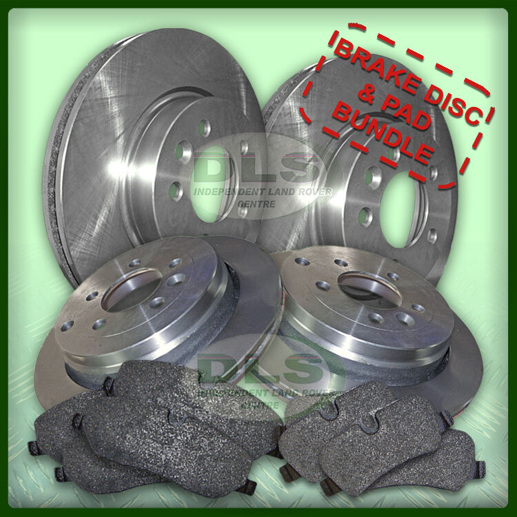 LAND ROVER DISCOVERY 3//4 TDV6  FRONT and REAR DISCS AND PAD SET BDM06