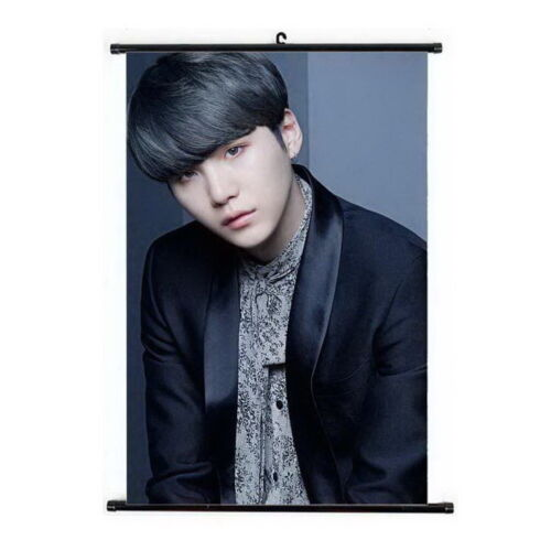 Lot of & Kpop BTS Bangtan Boys Hanging Painting Art Painting Wall Scroll Poster
