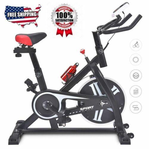 Pro Stationary Exercise Bike Bicycle Trainer Fitness Cardio