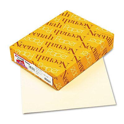 Neenah Paper CLASSIC Linen Writing Paper 24lb 8 1/2 x 11 Baronial Ivory 500