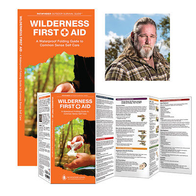 Wilderness First Aid Pathfinder Outdoor Survival Guide® - Water & Tear Proof