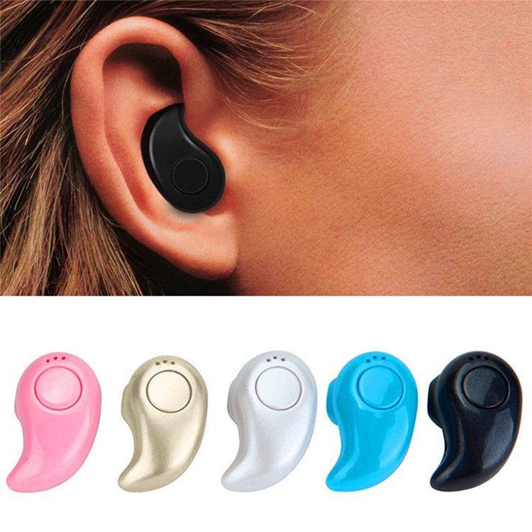 One-Piece Bluetooth Earphone, Wireless In-Ear Headset, Andro