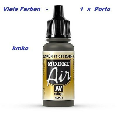 Vallejo Model Air MA 015 71015 RLM71 Oliv Grau 17ml 24,41 €/100ml