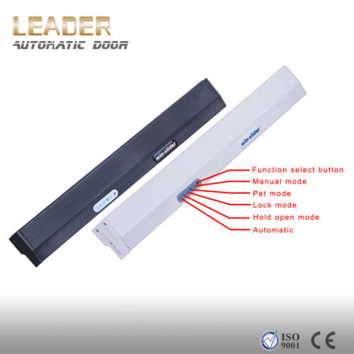 Residential automatic sliding door opener winslider with 2 wireless push buttons