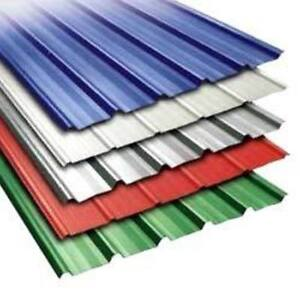 Corrugated Steel Panels, Roofing, Siding ***NEW*** 7 Colours