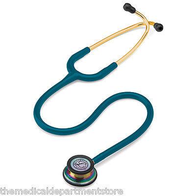 3m Littmann Classic Iii Stethoscope Caribbean Bluerainbow - Special Edition