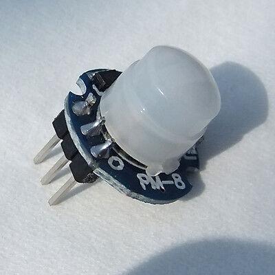 1pcs Dc 3.3v-15v Mini Body Sensing Pir Sensor Module Pyroelectric Probe
