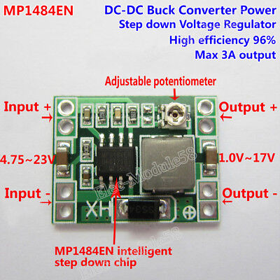 Dc-dc Buck Step-down Regulator Converter 4.223v To 3v 3.3v 5v 9v 12v 24v Module