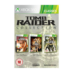 Tomb Raider: Legend Anniversary Underworld 3Pack Video Game For Xbox 360 Console