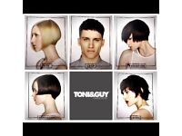 FREE CUT & BLOWDRY AT TONI & GUY YEOVIL