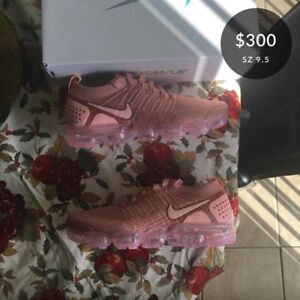 Nike W Air Vapormax Flyknit 2 Rust Pink/Storm Pink size 9.5