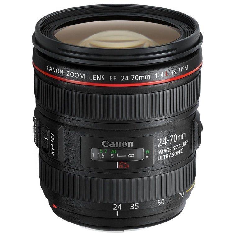 Canon 24-70mm f/4L IS USM Lens for Digital SLR DSLR Cameras Bodies