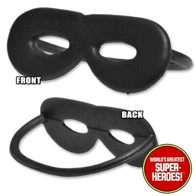 """Mego Zorro Rubber Mask Reproduction For 8"""" Action Figure WGSH Custom Parts Lot](Zorro Custome)"""