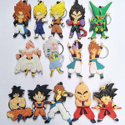 Dragon Ball z anime key chain key chains   cute anime keyring lot