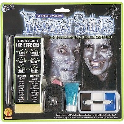 Vampire Ice Effects Makeup Frozen Face Fancy Dress Halloween Costume Accessory