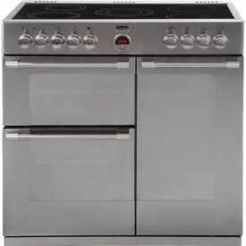 Stoves 90cm stainless steel electric range cooker