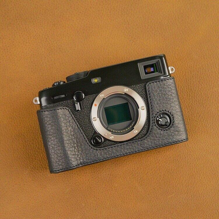 VR Handmade Genuine Leather Half Case for Fujifilm X-PRO3 XP