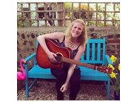 Singing, Songwriting, Guitar, Performance Teacher Available