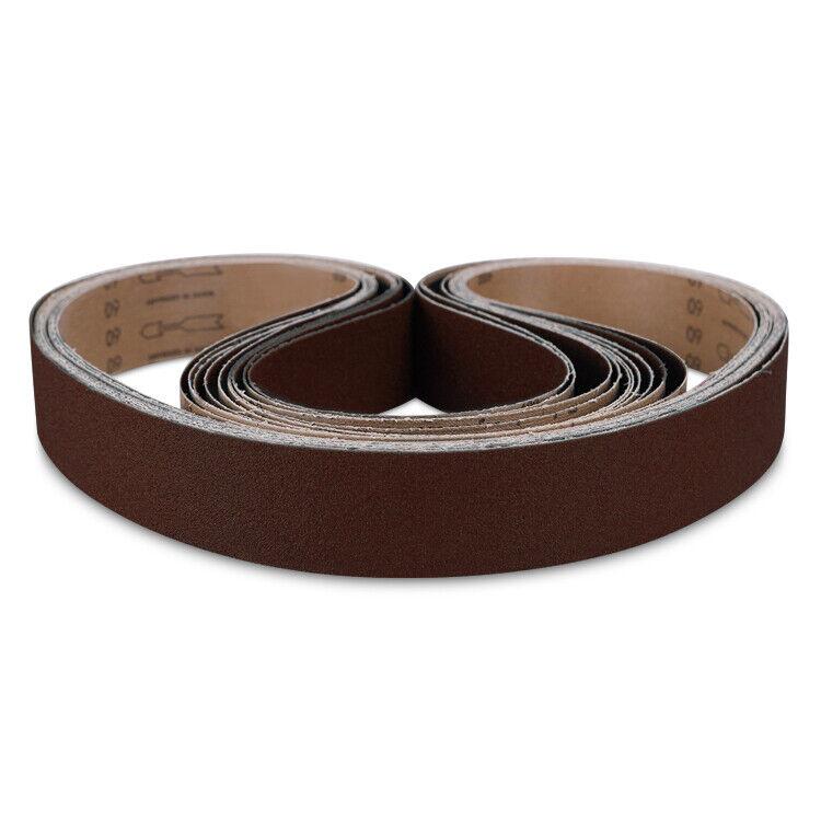 """2"""" x 36"""" Knife Maker A/O Sanding Belt Kit, Grinding Belts 60 GRIT -10 PACK"""