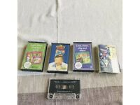 Selection of Cassette Tapes including Children's Stories - 50p each.
