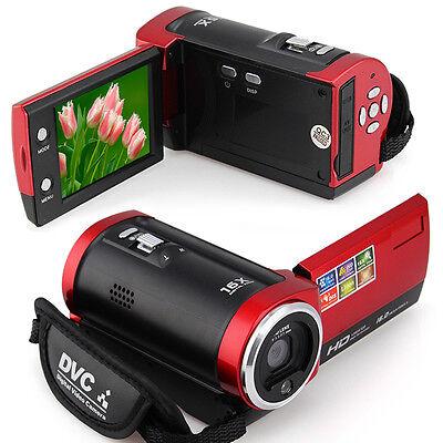 16MP 2.7'' TFT LCD 720P HD 16X Zoom DV Digital Video Camera Camcorder DVR
