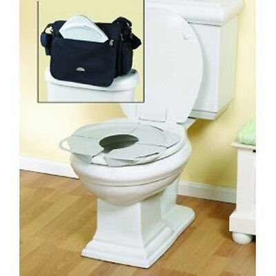 NEW Toilet Trainer Potty Seat w/Handles Folding Travel   FREE SHIP on Rummage