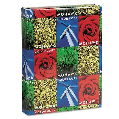 Mohawk Copier Gloss Cover Paper 100lb 94 Brightness Letter Pure White 250 (100 Lb Cover Paper)