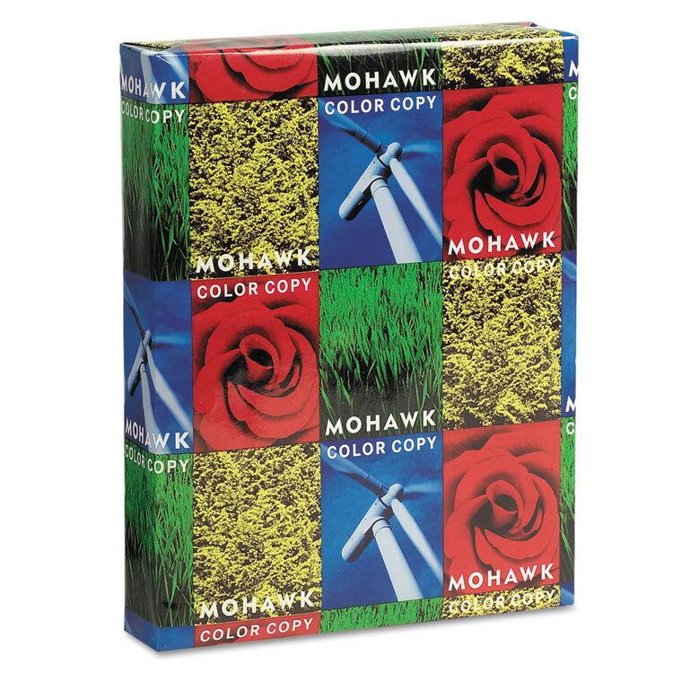 Mohawk Copier Gloss Cover Paper 100lb 94 Brightness Letter Pure White 250 Shts