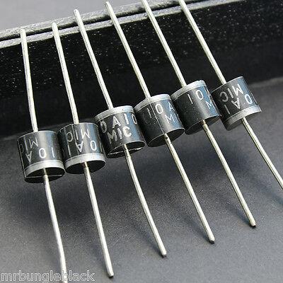 20pcs 10a10 10 Amp 1000v 10a 1kv Axial Rectifier Diode Diodes - Diy Solar Panels