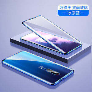 Oneplus 7Pro full body tempered glass magnetic phone case