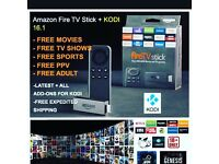 Amazon firestick (beast build kodi)