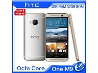 FULLY OPEN,HTC One M9 4G LTE 32GB SILVER