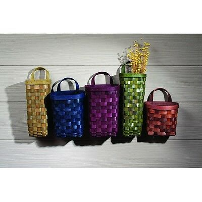 Gathering Baskets Wall Pocket 5 Assorted