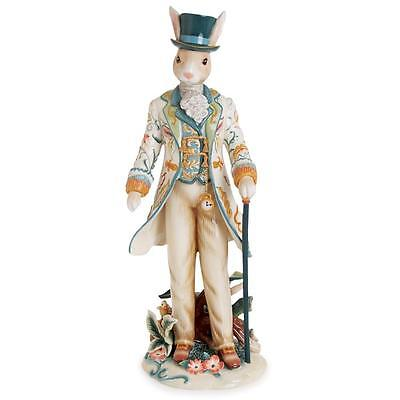 Fitz and Floyd Dapper Rabbit standing MALE new product ! NEW SERIES ! free ship