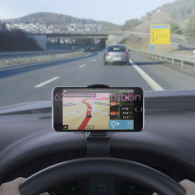 Chevy Colorado Driver Design - Universal Car Dashboard Mount Holder Stand HUD Design Cradle for Cell Phones GPS