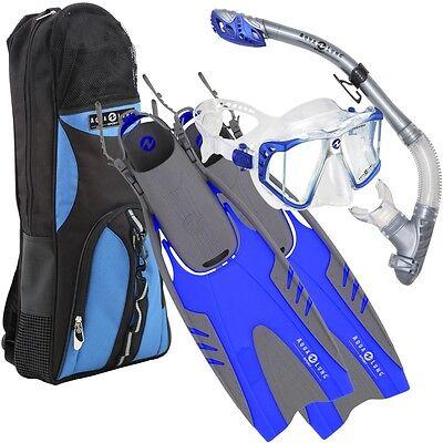 Aqua Lung Sport LUX Purge LX Pivot Diving Set, Snorkeling Fins Mask Scuba - S/M
