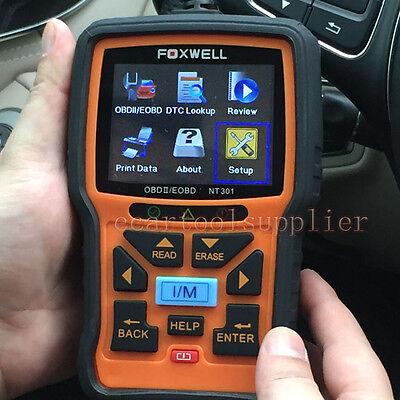Foxwell NT301 KFZ Motor Diagnose Fehler Scanner MIL CAN BUS OBD2 EOBD Tester online kaufen