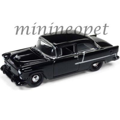 Johnny Lightning Jlsp005 A 1955 55 Chevrolet Bel Air 1 64 Diecast Car Black