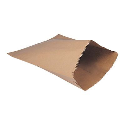Deli Supplies 100 x Brown Kraft Paper Bags 19