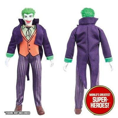 Mego Joker COMPLETE Outfit Repro Jacket Shoes Pants 8